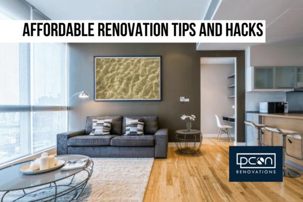 Affordable renovation tips and hacks
