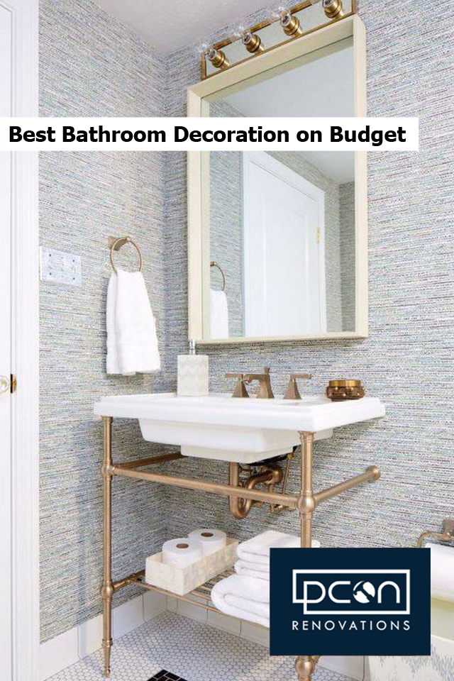 Best Bathroom Decoration on Budget