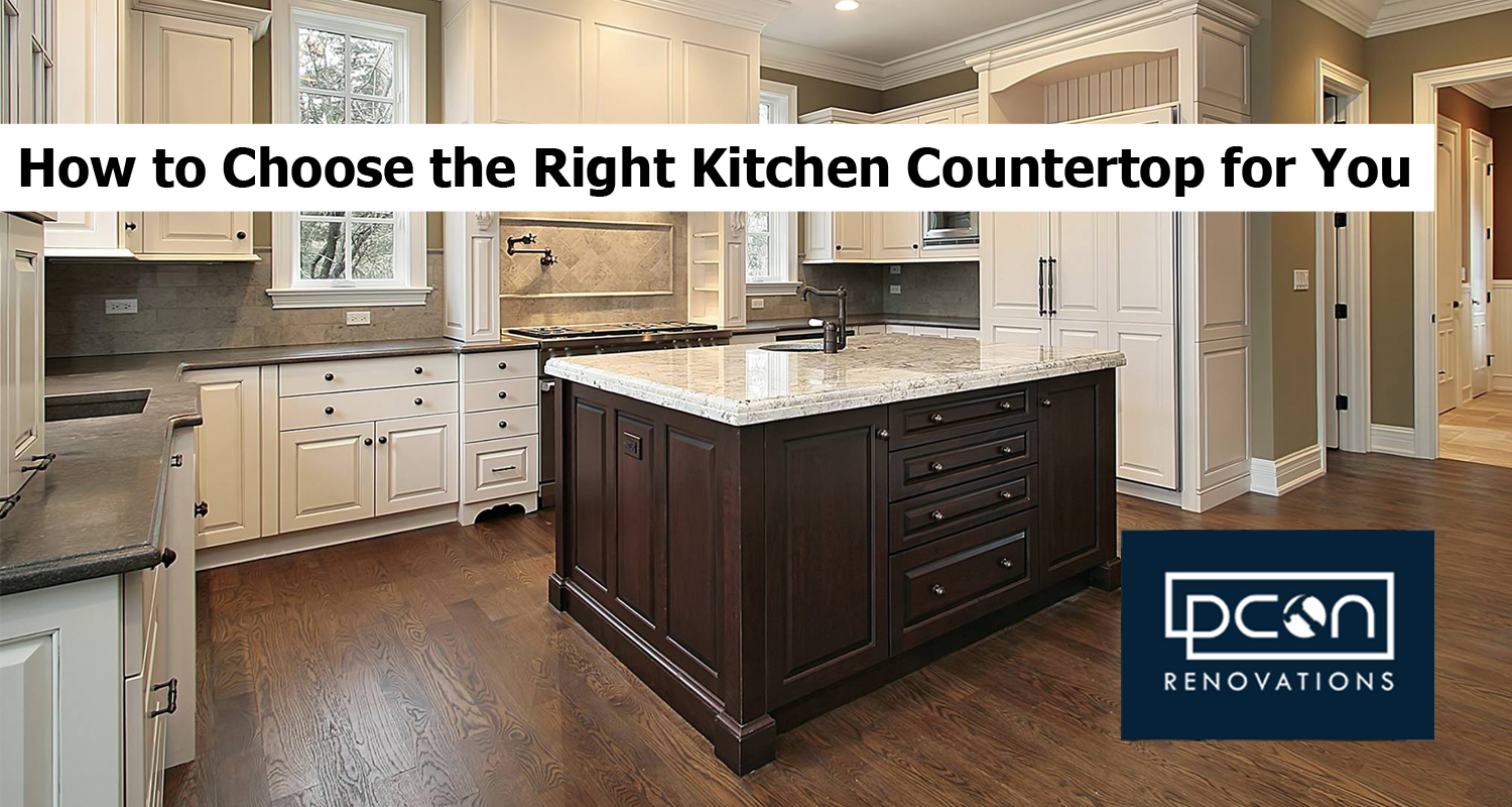 How to Choose the Right Kitchen Countertop for You