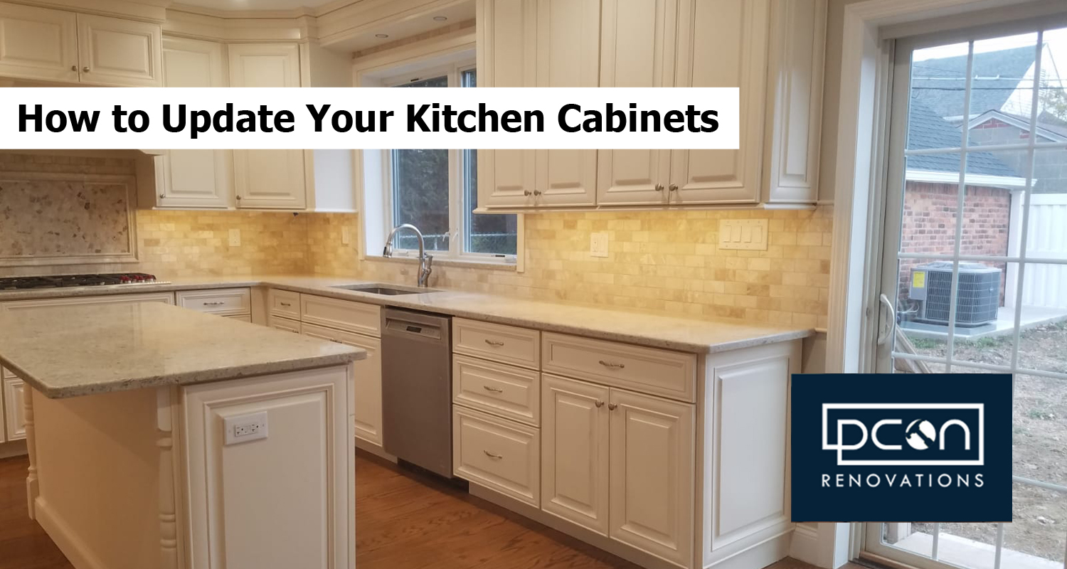 How to Update Your Kitchen Cabinets
